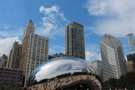 chicago bean up close