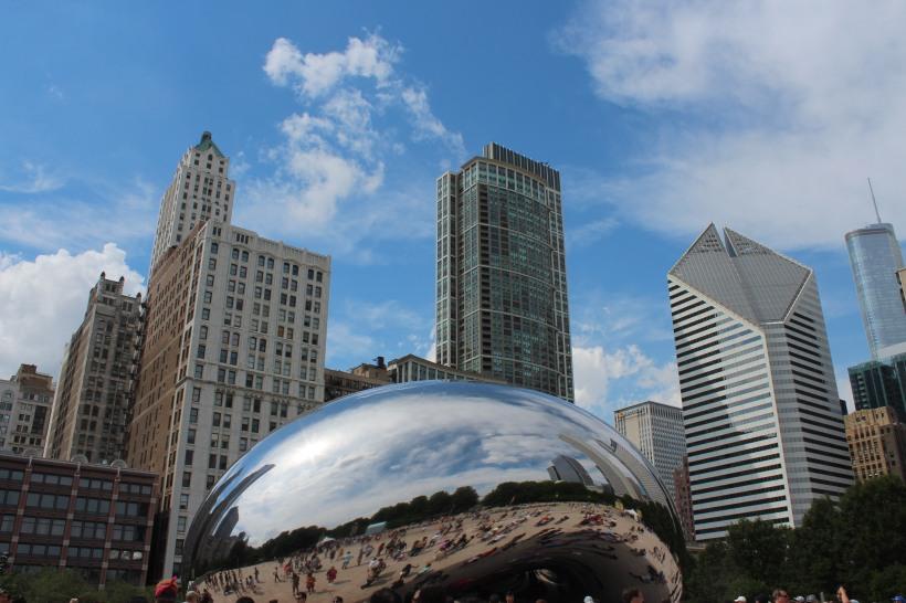 chicago bean up close